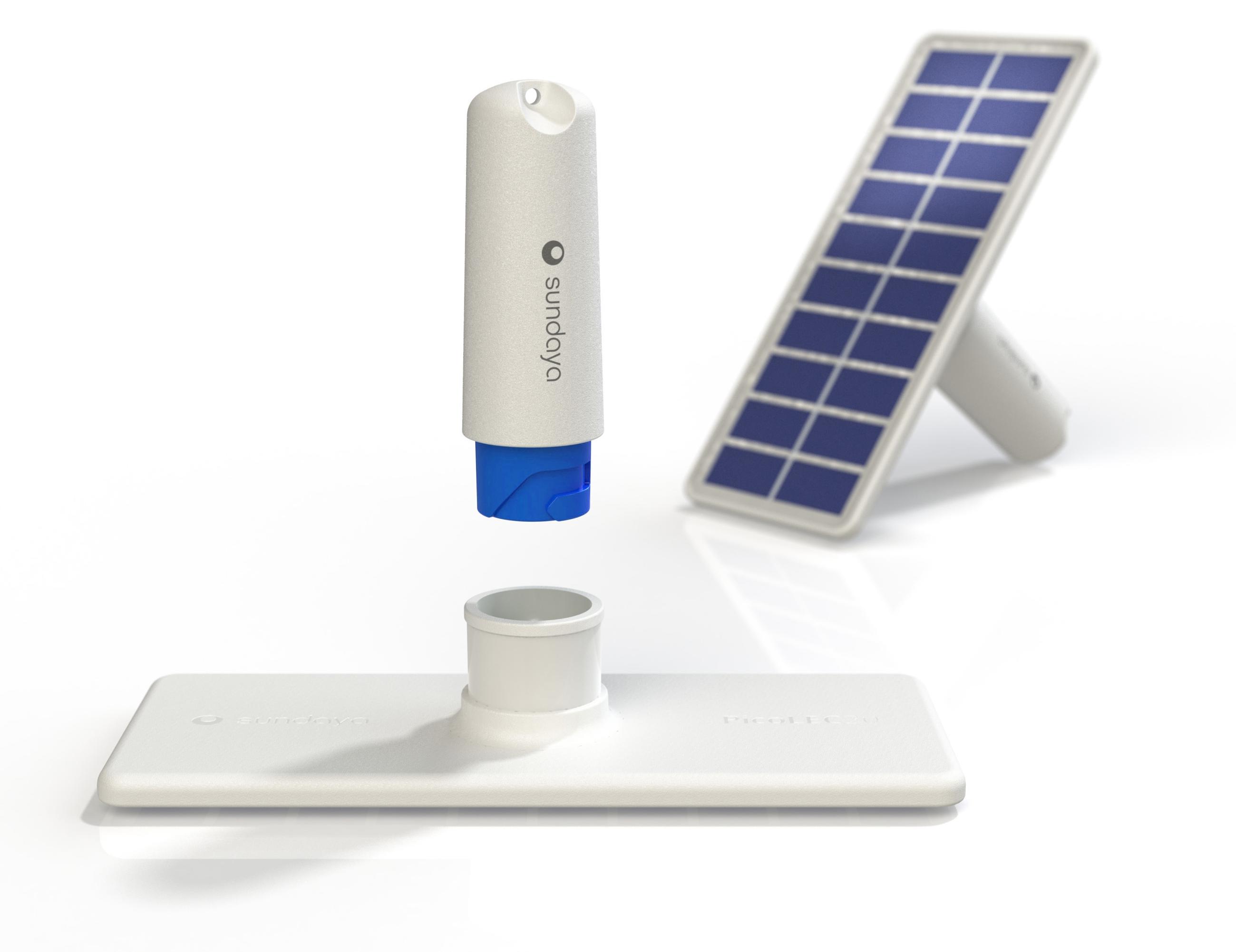 Sundaya Joule Stick Kit PHAESUN mobiles Solarpanel Licht